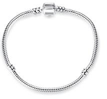 Браслет с покрытием серебро пандора, бусины пандора 925 пробы покрытие, pandora браслет, основа пандора