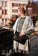 Женская кожаная сумка Avitoo B642, черный, фото 2
