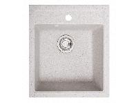 Мойка искусственный камень Solid БРИЗ 460x515 белый песок