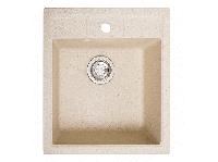 Мойка искусственный камень Solid БРИЗ 460x515 песок