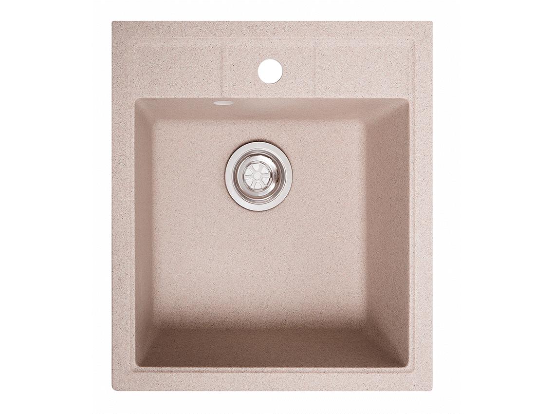 Мийка штучний камінь Solid БРИЗ 460x515 рожевий пісок