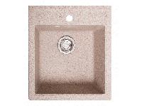 Мойка искусственный камень Solid БРИЗ 460x515 розовый песок