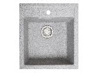 Мойка искусственный камень Solid БРИЗ 460x515 серый гранит