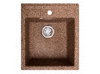 Мойка искусственный камень Solid БРИЗ 460x515 терракот