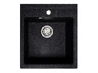 Мойка искусственный камень Solid БРИЗ 460x515 черный гранит