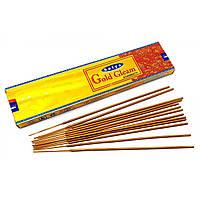 Gold Gleam аромапалочки масала благовоние(20 гр.) (Satya)