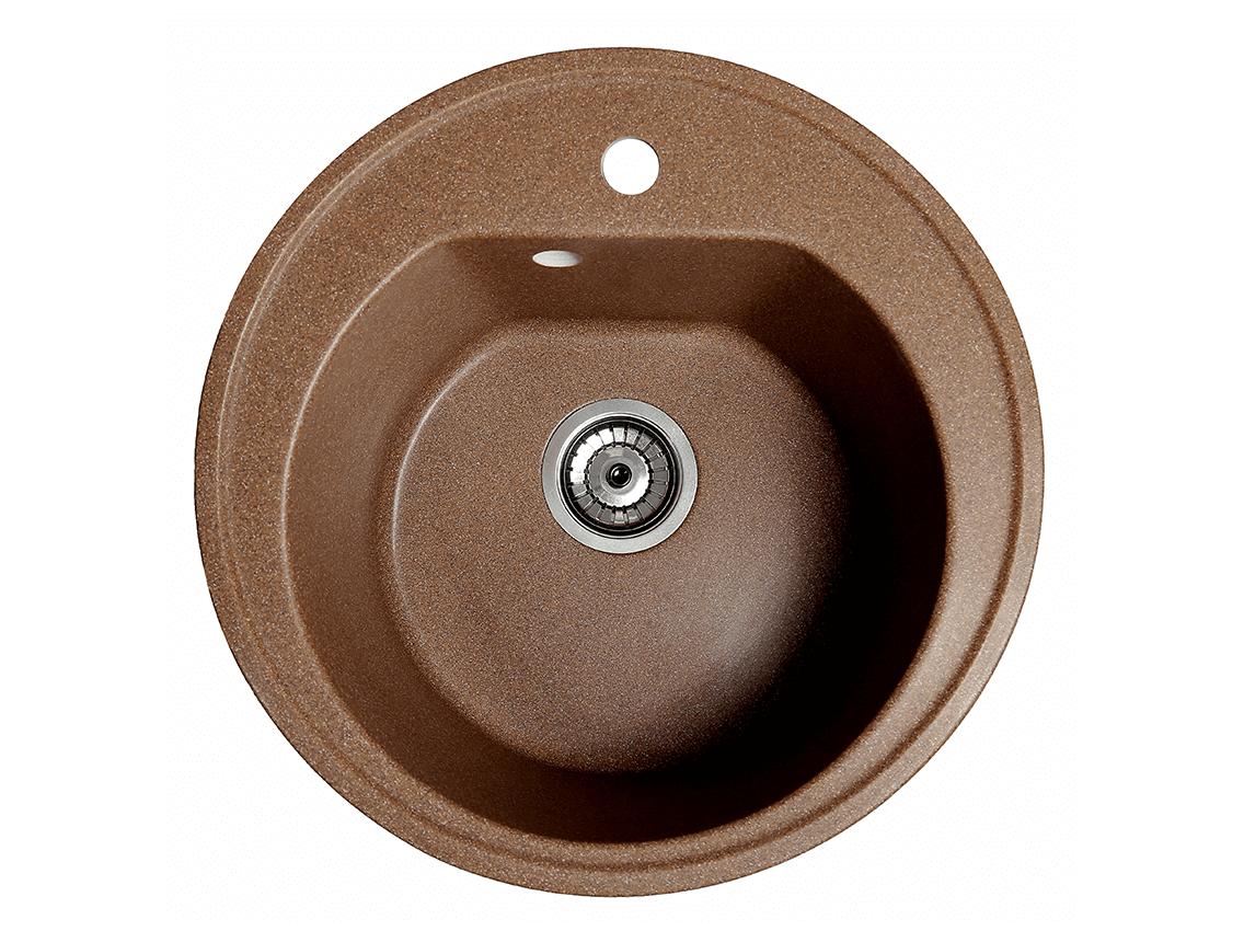 Мойка искусственный камень Solid КЛАССИК D510 терракот