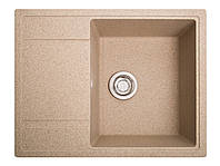 Мийка штучний камінь Solid ОПТИМА 650x510 латино беж, фото 1