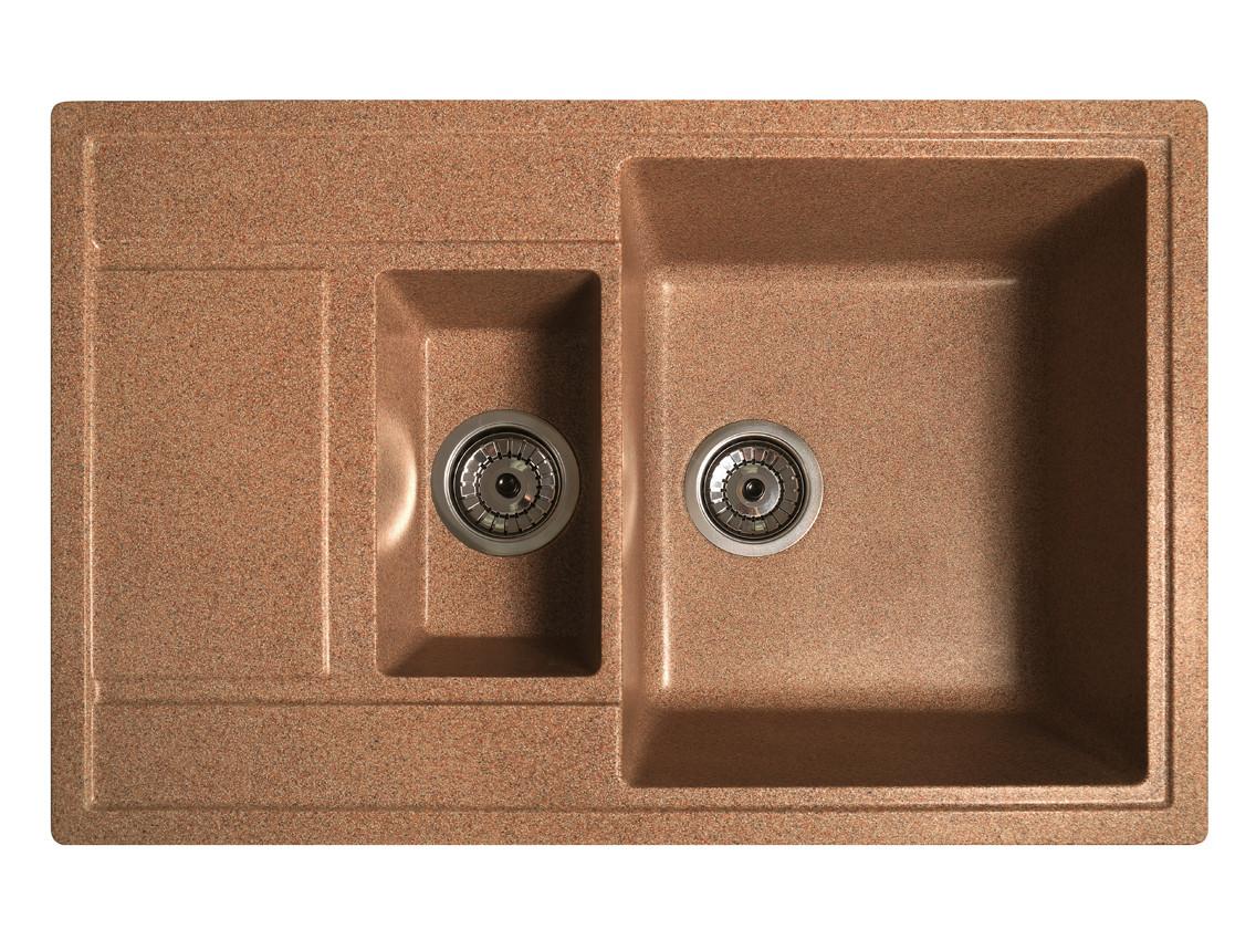 Мийка штучний камінь Solid ПРАКТИК 780x510 теракот