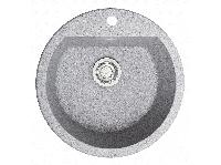 Мийка штучний камінь Solid РАУНД D510 сірий граніт, фото 1