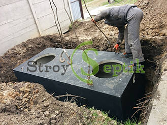 Септик бетонный для дачного домика 4