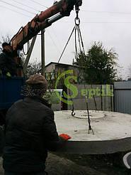 Септик бетонный для дачного домика 7