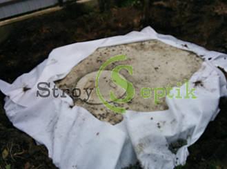 Септик бетонный для дачного домика 10