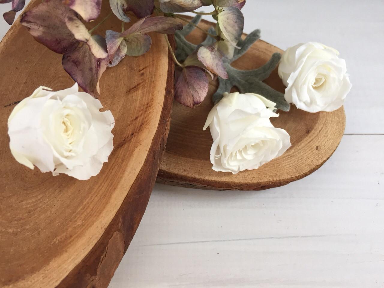 Роза стабилизированная белая