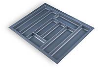 Лоток для столових приладів Standard 630х480 сірий