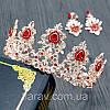 Тиара и серьги набор АДЕЛИНА корона в стиле Dolce&Gabbana, фото 9