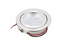 Підсвічування LED одинарна GIFF SD-15 220V білий холодний світ, нержавіюча сталь