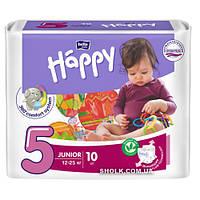 Подгузники детские Bella Baby Happy Junior 12-25 кг 10 шт