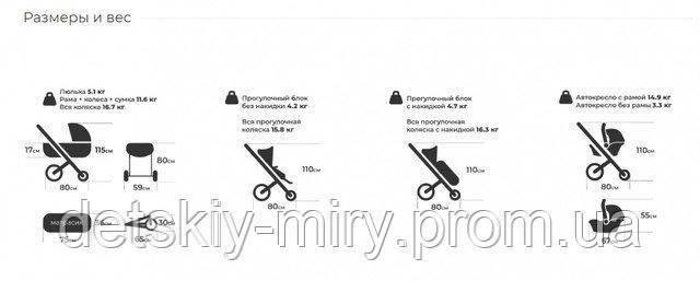Детская универсальная коляска 2 в 1 Verdi Futuro - фото 10