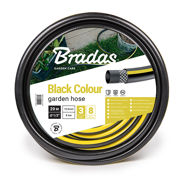 """Шланг для полива BLACK COLOUR 1/2"""" 30м, WBC1/230"""