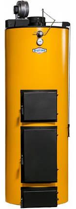 Универсальный котел длительного горения Буран New 10 кВт (уголь+дрова), фото 2