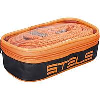 Трос буксировочный 3,5 т, 2 крюка, сумка на молнии.  STELS