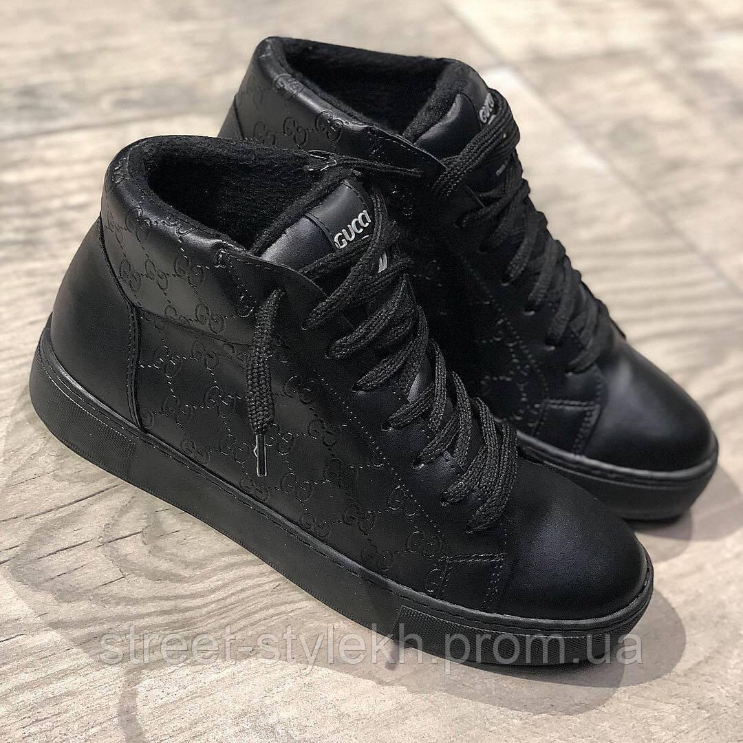 9479b7f8a Мужские Ботинки утеплённые Gucci, мужская обувь - Street Style в Харькове