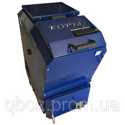 Котел Корди КОТВ - 26 кВт Шахтного типа, верхняя загрузка, фото 2