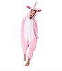 Кигуруми піжама дитяча рожевий єдиноріг 130 см, фото 4