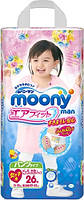 Трусики Moony для девочек B.BIG (13-25кг) 26 шт