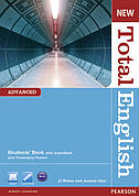 New Total English Advanced Students' Book (with Active Book CD-ROM) ISBN: 9781408267141