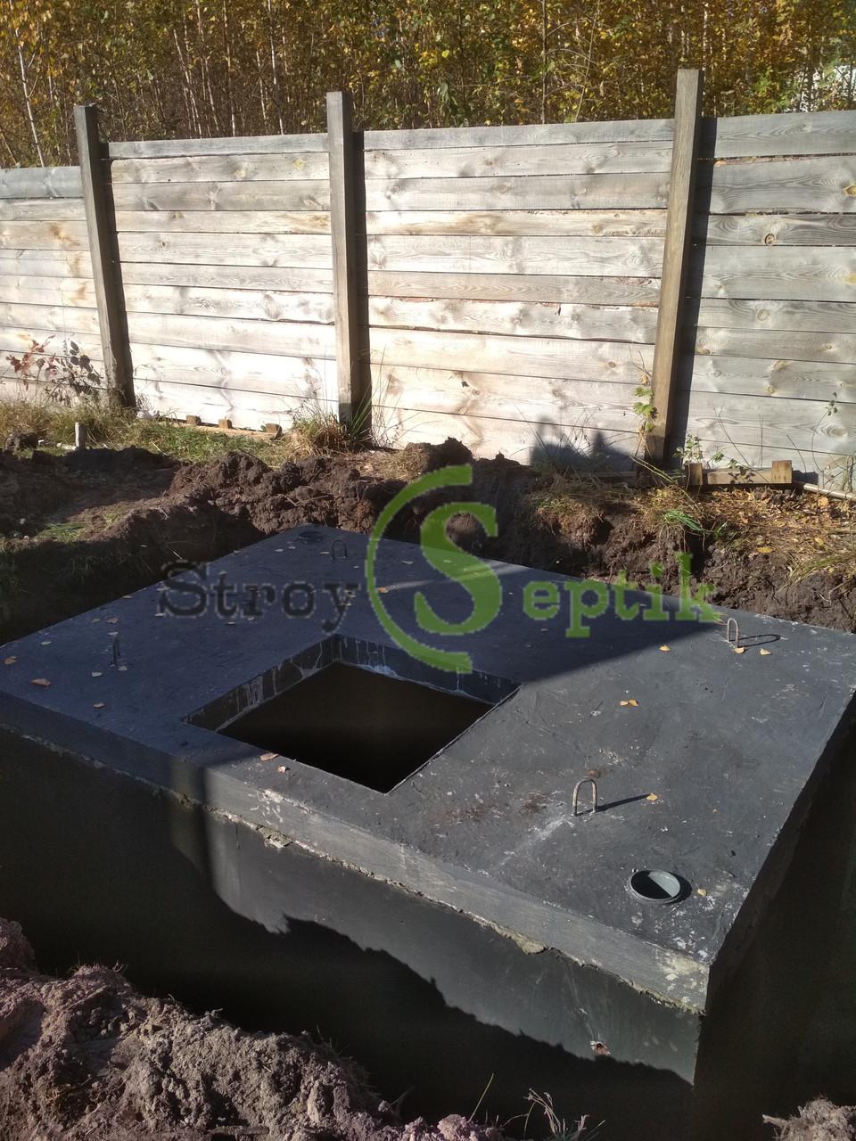 Железобетонный погреб 6 куб.м.