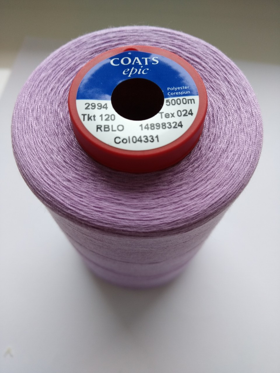 Нитки Coats Epic 043312 / 120, 5000м