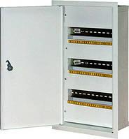 Шкаф распределительный e.mbox.stand.w.48.z под 48 мод.встраиваемый с замком