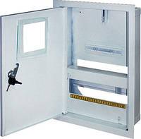 Шкаф распределительный e.mbox.stand.w.f1.12.z под однофазный счетчик+ 12 мод.страиваемый замком