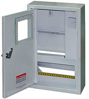 Шкаф e.mbox.stand.n.f1.10.z металлический, под 1-ф. счетчик, 10 мод., навесной, с замком