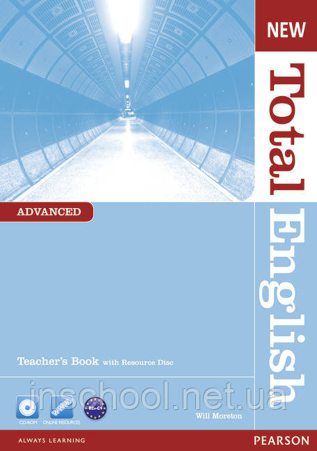 New Total English Advanced Teacher's Book (with CD-ROM) ISBN: 9781408267257