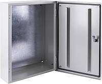 Корпус металлический e.mbox.pro.p.60.50.20z IP54 с монтажной панелью (600х500х200)