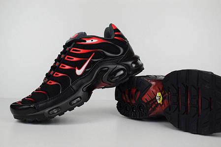 """Кроссовки Nike Air Max TN """"Black/Red"""" (Черные/Красные), фото 2"""