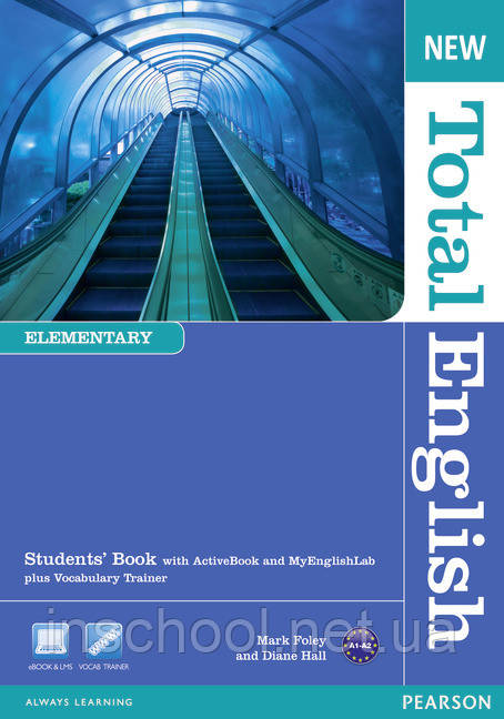 New Total English Elementary Students' Book (with Active Book CD-ROM) ISBN: 9781408267165