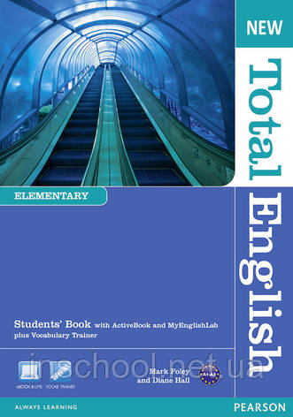 New Total English Elementary Students' Book (with Active Book CD-ROM) ISBN: 9781408267165, фото 2