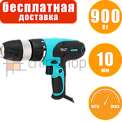Электрошуруповерт с регуляцией оборотов Riber ДШ 10/900М, патрон 10 мм, сетевой шуруповерт от сети
