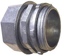 """Ввод металлический e.industrial.pipe.dir.collet.1-1/4"""", цанговый"""