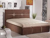 Кровать Ланза с подъемным механизмом 1,6  (мисти браун-беж)
