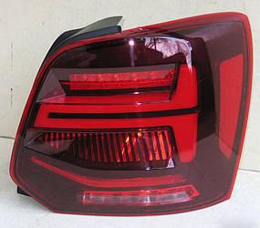 Диодные фонари Led тюнинг оптика Volkswagen Polo mk5 стиль ауди q2