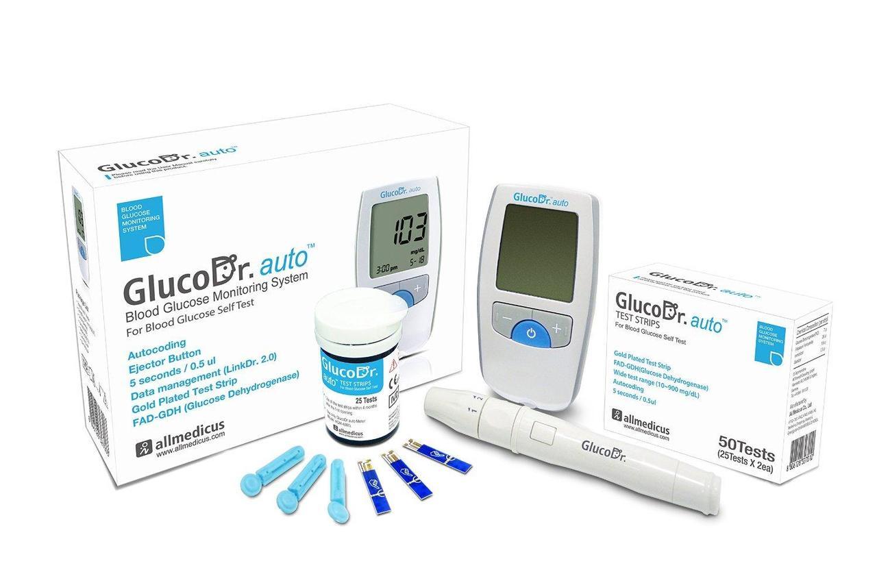 Глюкометр Gluco Dr. auto AGM-4000