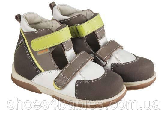 Memo Torino 3BE Коричневые - Ортопедические туфли для детей (р.22-29) 25