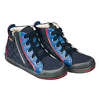 Memo New York 1DA Синие - Детские ортопедические кроссовки (р.26-38) - Urban Classic 26, фото 1