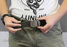 Тактический брючной ремень Слава Украине с пряжкой tactical olive (slava-olive), фото 2