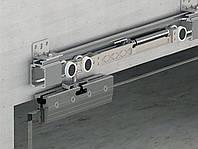 Albatur M23 9900 SFT комплект механизмов для межкомнатной двери из стекла с доводчиком, до 120 кг
